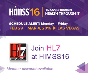Join HL7 At HIMSS16 in Las Vegas